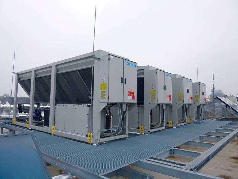 DAIKIN Luftgekühlte Kaltwassersätze