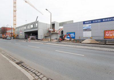 Baustelle TEVI Kilianstraße, Nürnberg