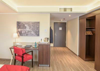 Hotelzimmer mit Klimaanlage