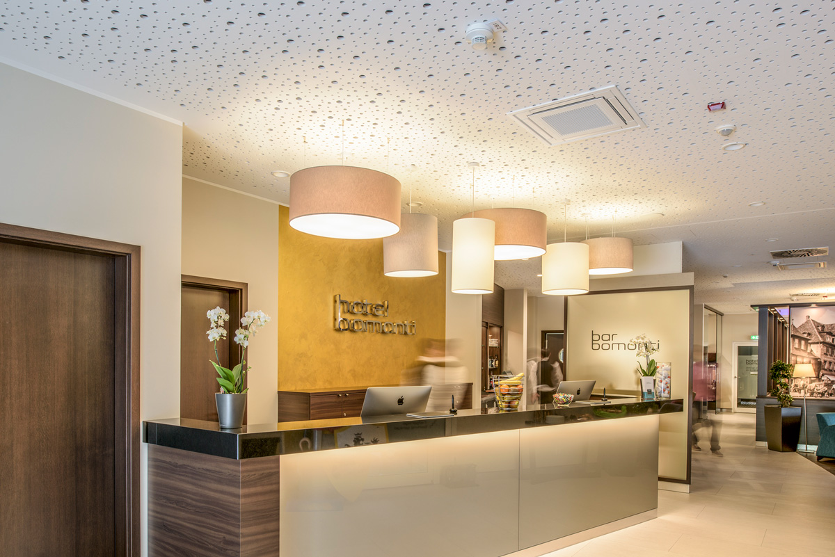 Lobby des Hotel Bomonti **** in Oberasbach
