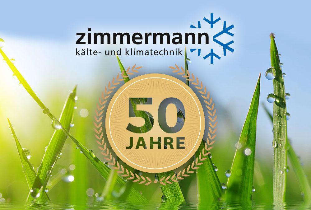 JUBILÄUM: 50 Jahre ZIMMERMANN