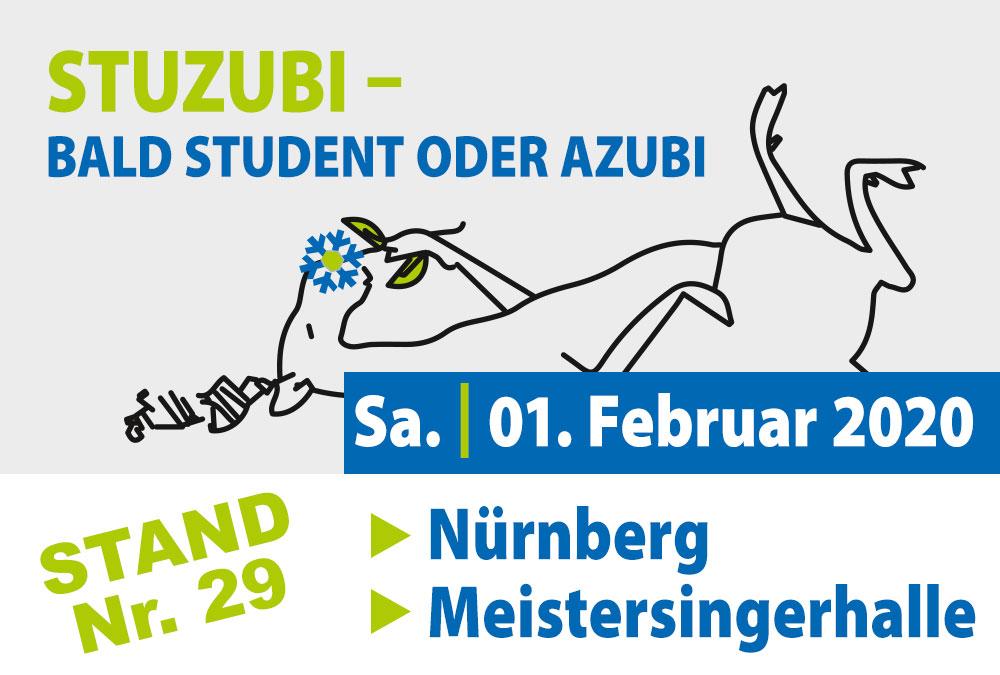 STUZUBI: Besuchen Sie uns am 1. Februar 2020 am Stand 29