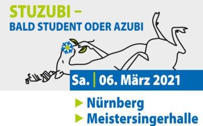 STUZUBI: Besuchen Sie uns am 6. März 2021